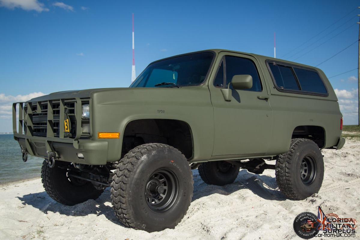 Chevrolet M (K5 Military Blazer). New water pump. Adjustable proportioning valve to set the ratio between front and rear brakes. Bluetooth/USB/AUX/FM stereo.