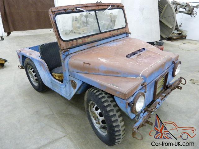 1961 m422a1 mighty mite jeep in need of restoration rare earliest known m422a1. Black Bedroom Furniture Sets. Home Design Ideas