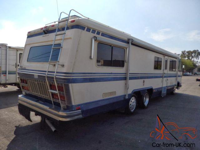 EXECUTIVE 1987 MOTORHOME LOW MILES GAS PUSHER TAG AXLE IN ...