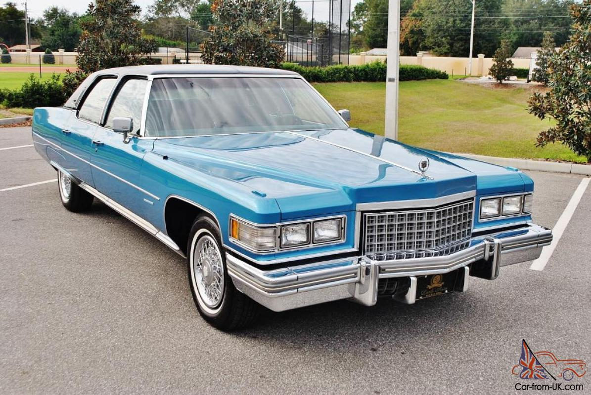 All so very rare 1976 Cadillac Fleetwood Talisman just 62,008 miles