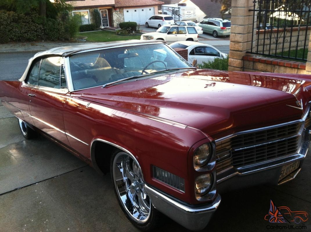 1966 cadillac coupe deville convertible for sale. Cars Review. Best American Auto & Cars Review