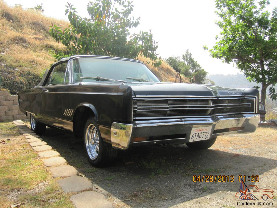 1968 chrysler 300 convertible rare. Black Bedroom Furniture Sets. Home Design Ideas