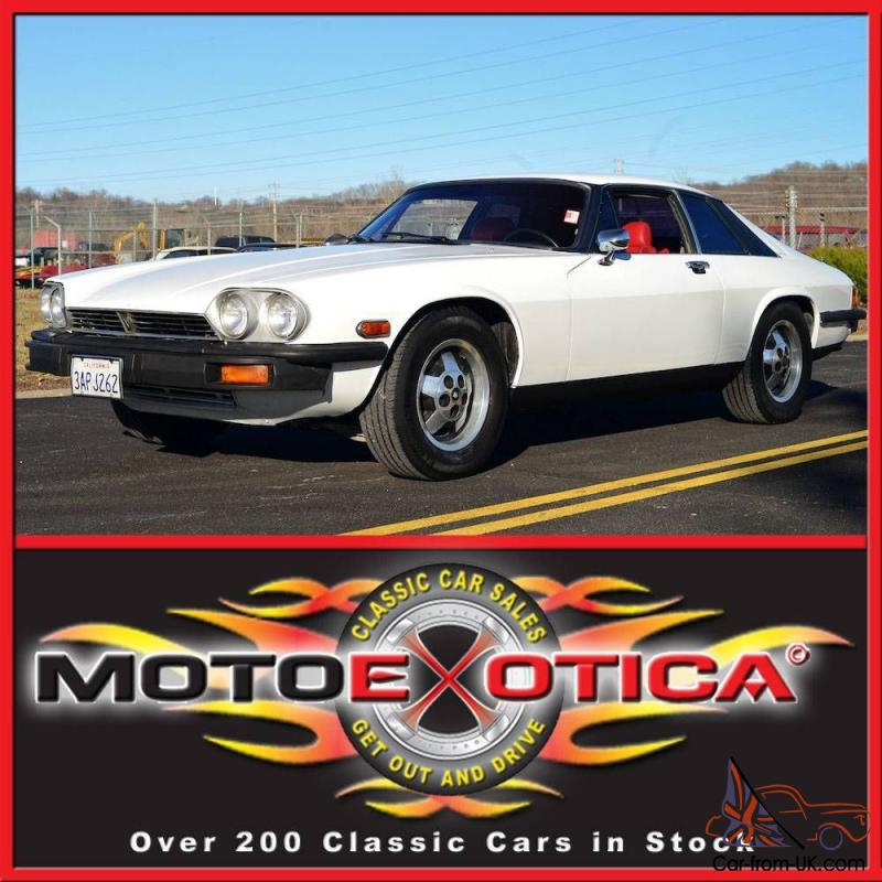 350 Chevy Engine In Jaguar: 1976 JAGUAR XJ-S COUPE-CHEVY V8 ENGINE CONVERSION-A/C