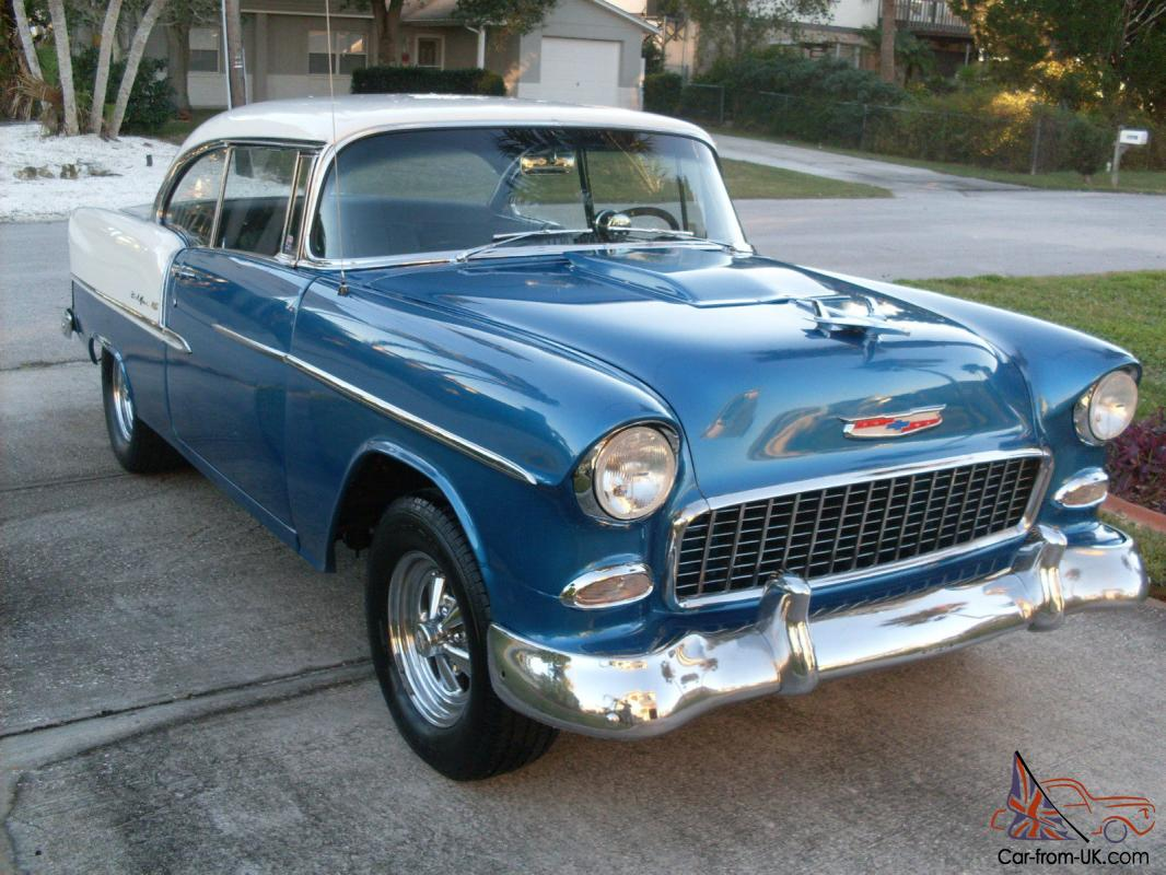 1955 chevrolet belair 2 door hardtop show go for 1955 chevy two door