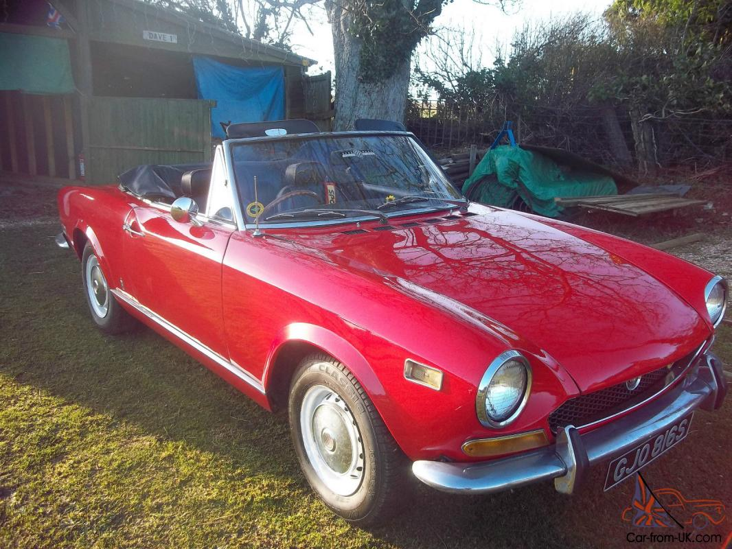 Fiat 124 abarth for sale