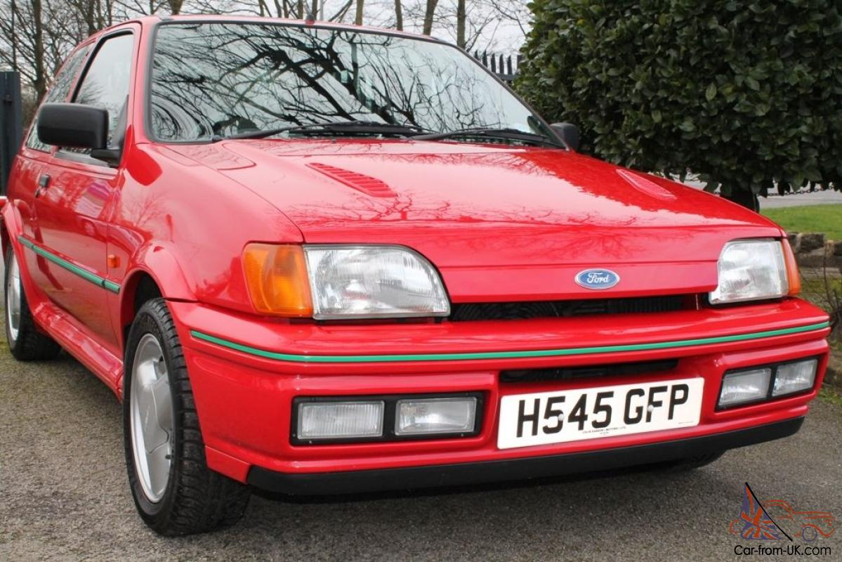 1991 h ford fiesta 1 6 rs turbo red manual. Black Bedroom Furniture Sets. Home Design Ideas
