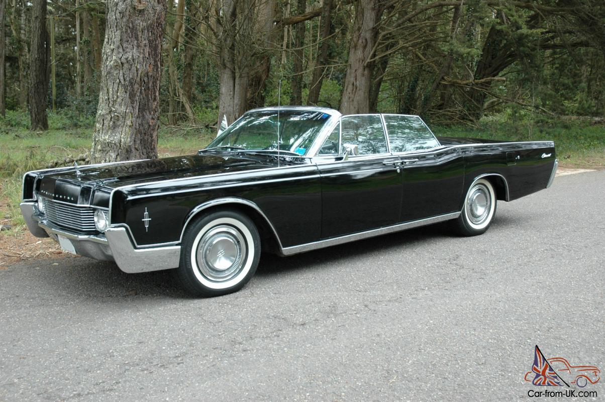 1966 lincoln continental convertible with suicide doors no reserve sf bay area