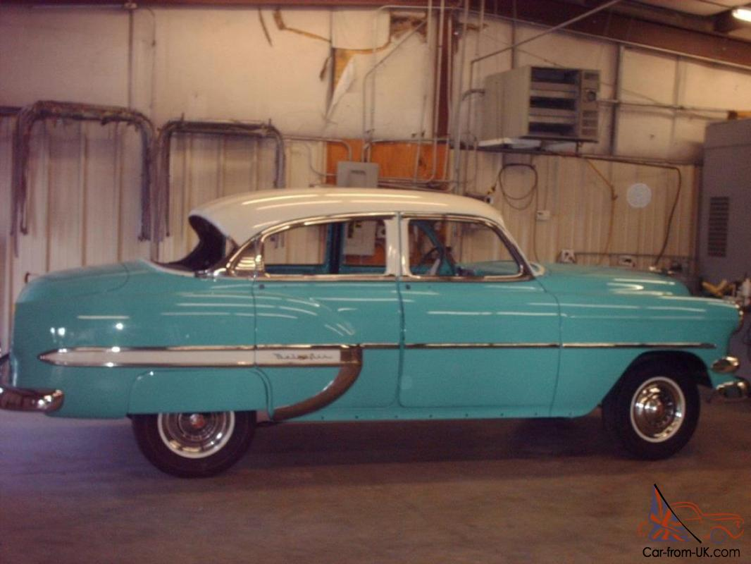 1954 chevrolet bel air base sedan 4 door 3 8l for 1954 belair 4 door