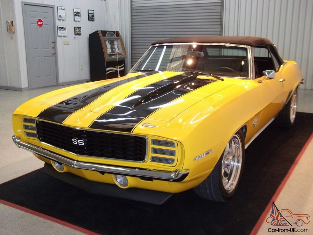 1969 chevrolet camaro rs ss convertible. Black Bedroom Furniture Sets. Home Design Ideas