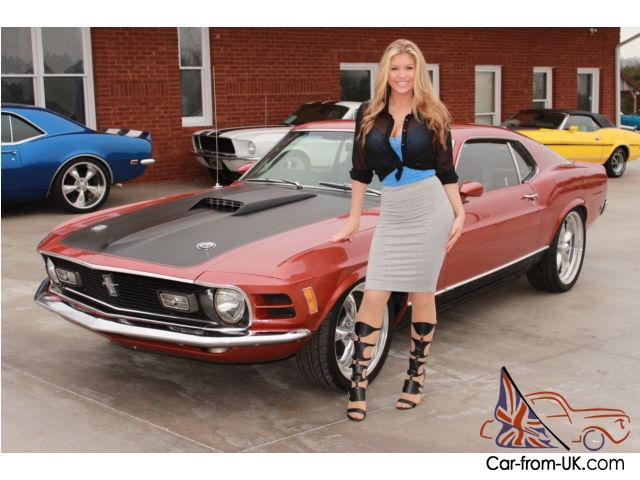 1970 Ford Mustang Mach 1 Marti Report 351 Cleveland 5 Spd Fast Ride Video
