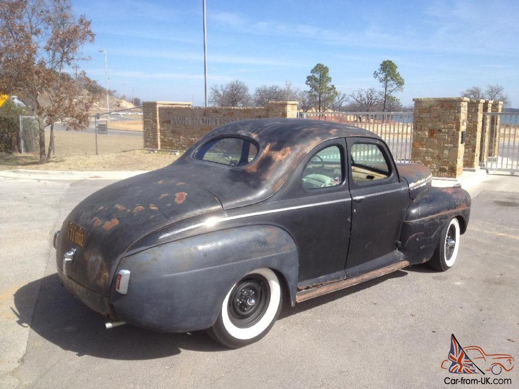 1941 ford super deluxe business coupe for 1941 ford super deluxe 4 door sedan
