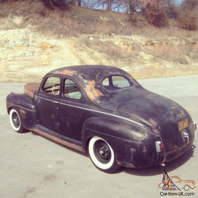 Ford Super Deluxe Business Coupe Flathead Traditional Hot Rod ...