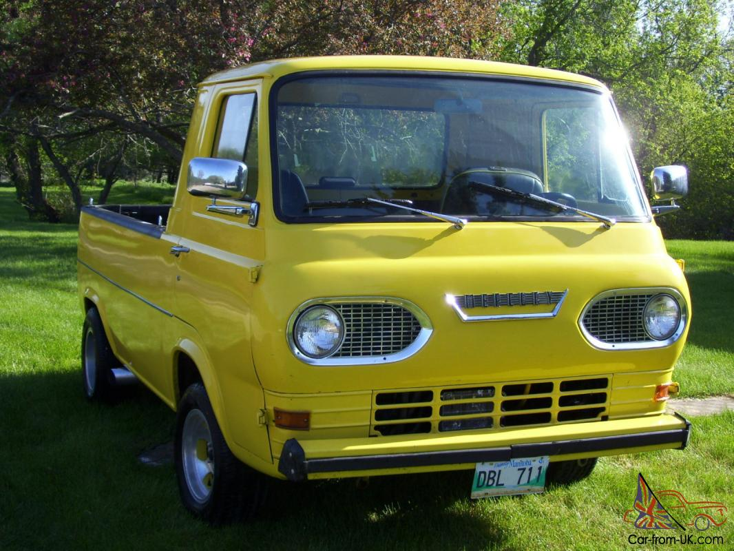 Rare 1965 Mercury Econoline Pick Up Built By Ford Of Canada 1964 Van