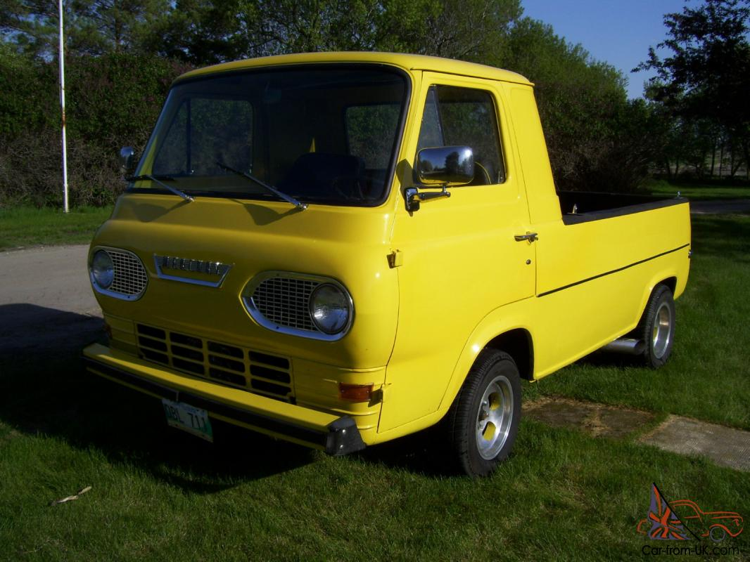 Rare 1965 Mercury Econoline Pick Up Built By Ford Of Canada 1961 Pickup Truck