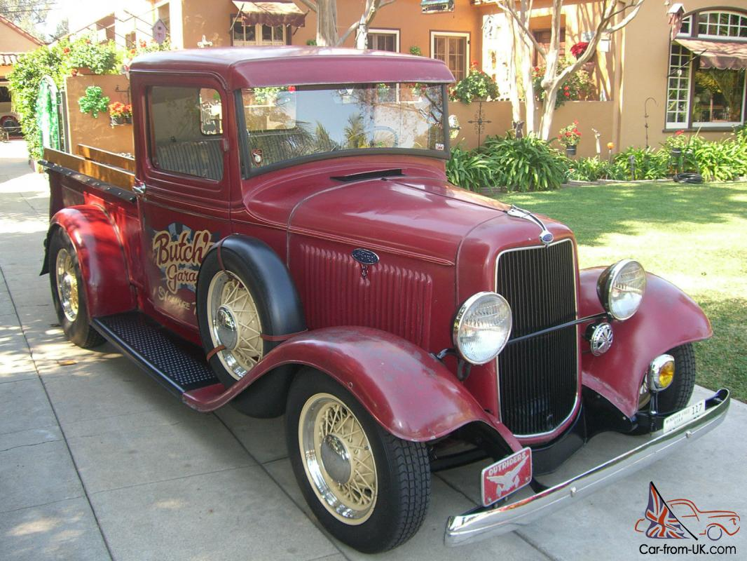Ford Pickup, Old School built Hot Rod, Columbia, Juice Brakes ...