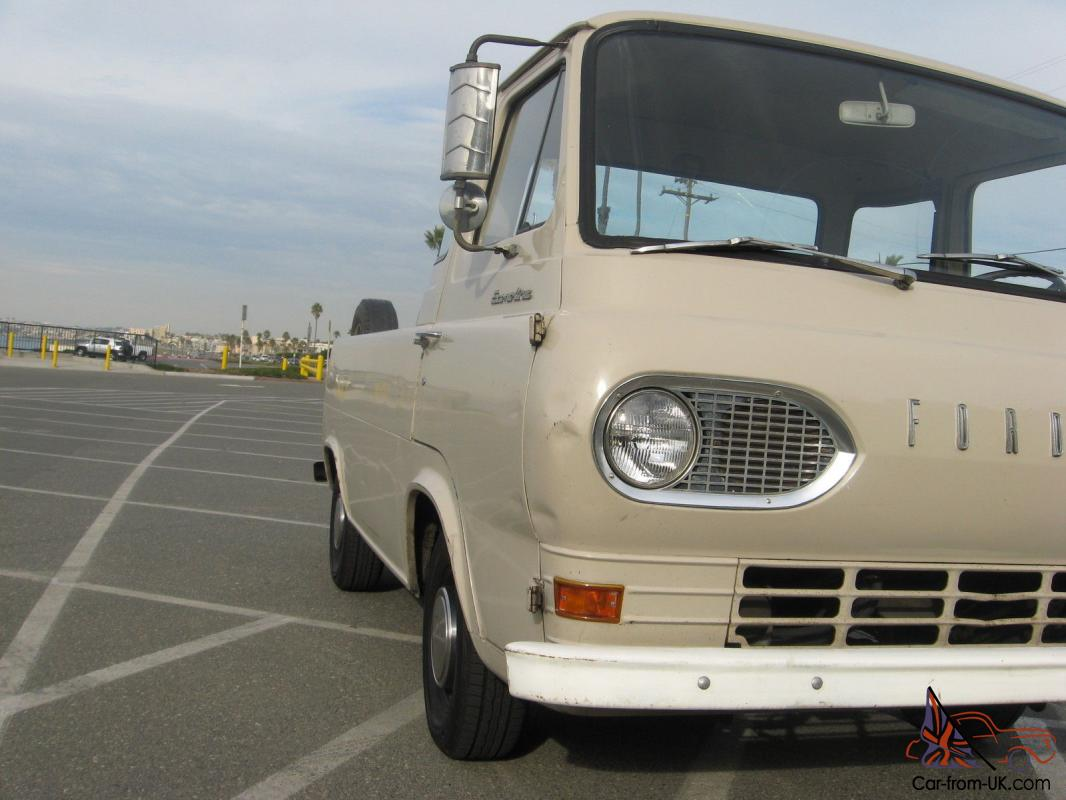 1964 ford econoline pickup 61 62 63 65 66 67 garage kept for Garage ford 62
