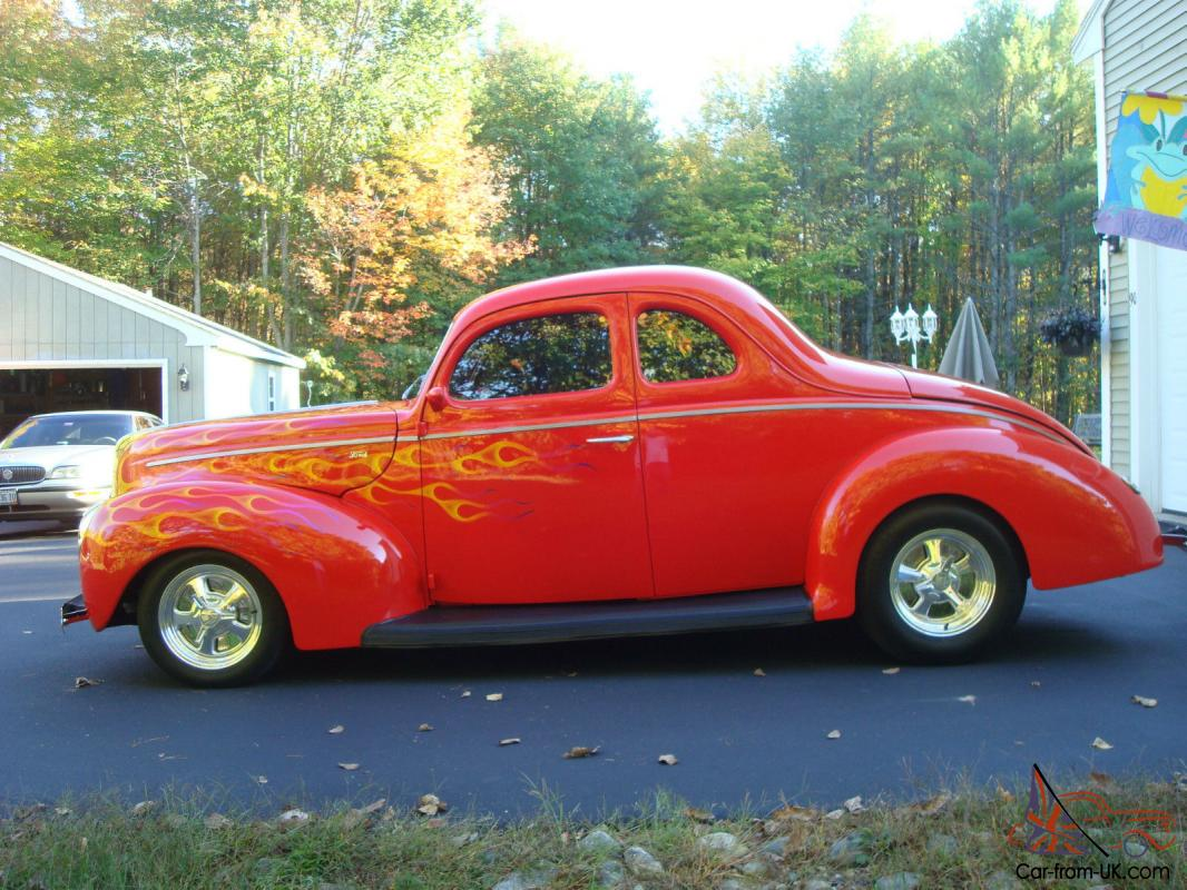 End Build All Steel 1940 Ford Coupe Street Rod No 32,33,34