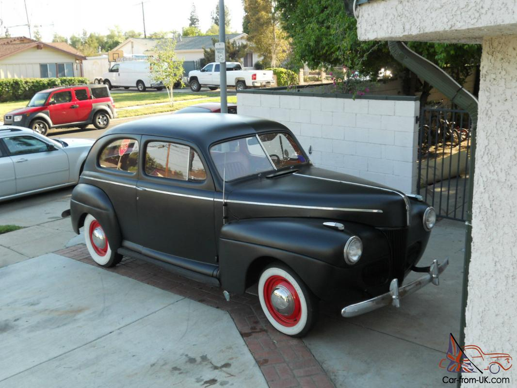 1941 Ford 2 Door Sedan All Steel Hot Rod Street Sleeper A Must See Wiring Harness