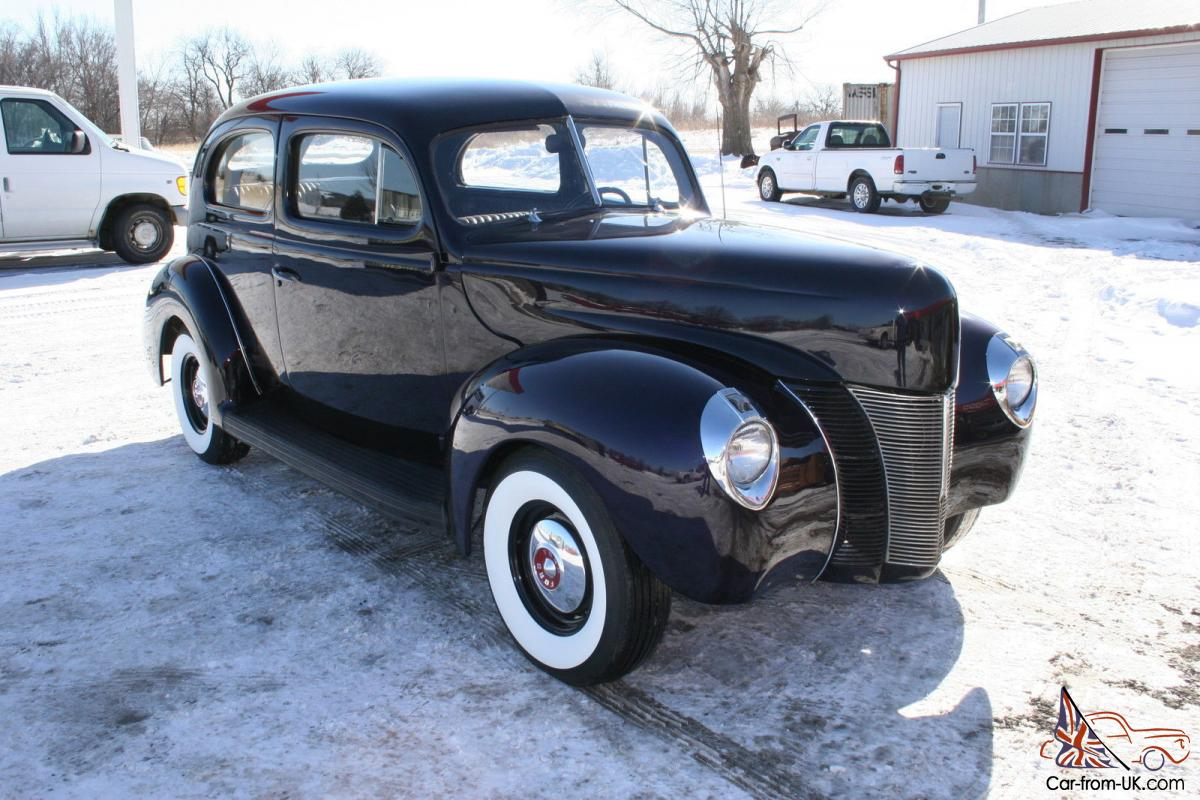1940 ford 2 door sedan 302 automatic for 1940 door