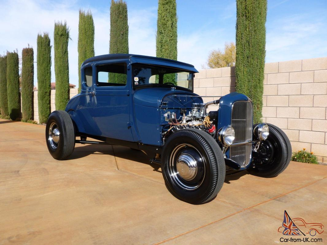 FORD A-V8 5 WINDOW COUPE - TRADITIONAL HOT ROD