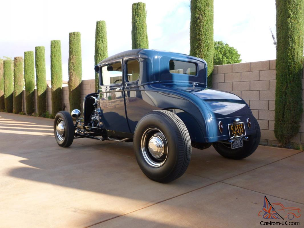 1929 FORD A-V8 5 WINDOW COUPE - TRADITIONAL HOT ROD