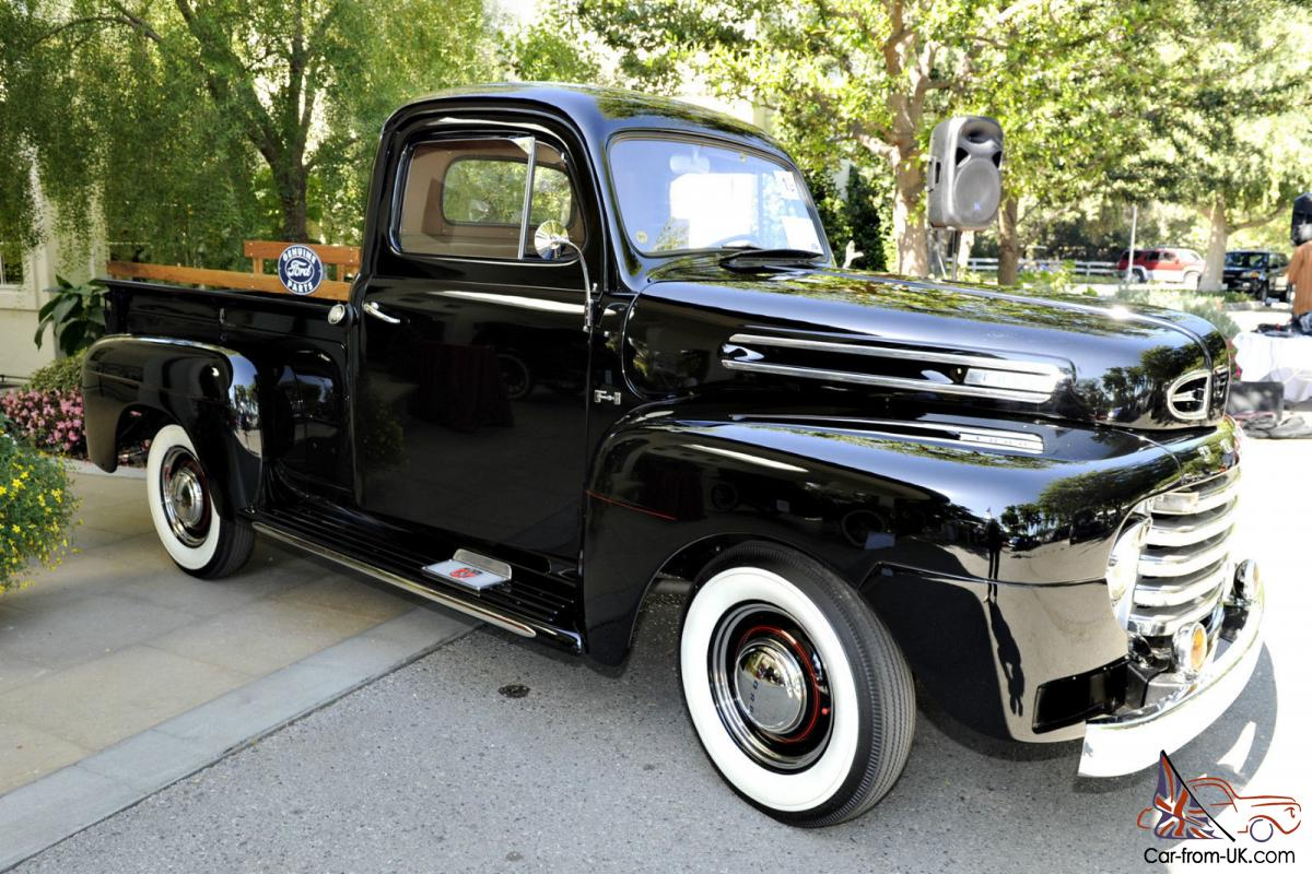 1948 Ford F1 Flat Head V8 Pickup Fully Restored And