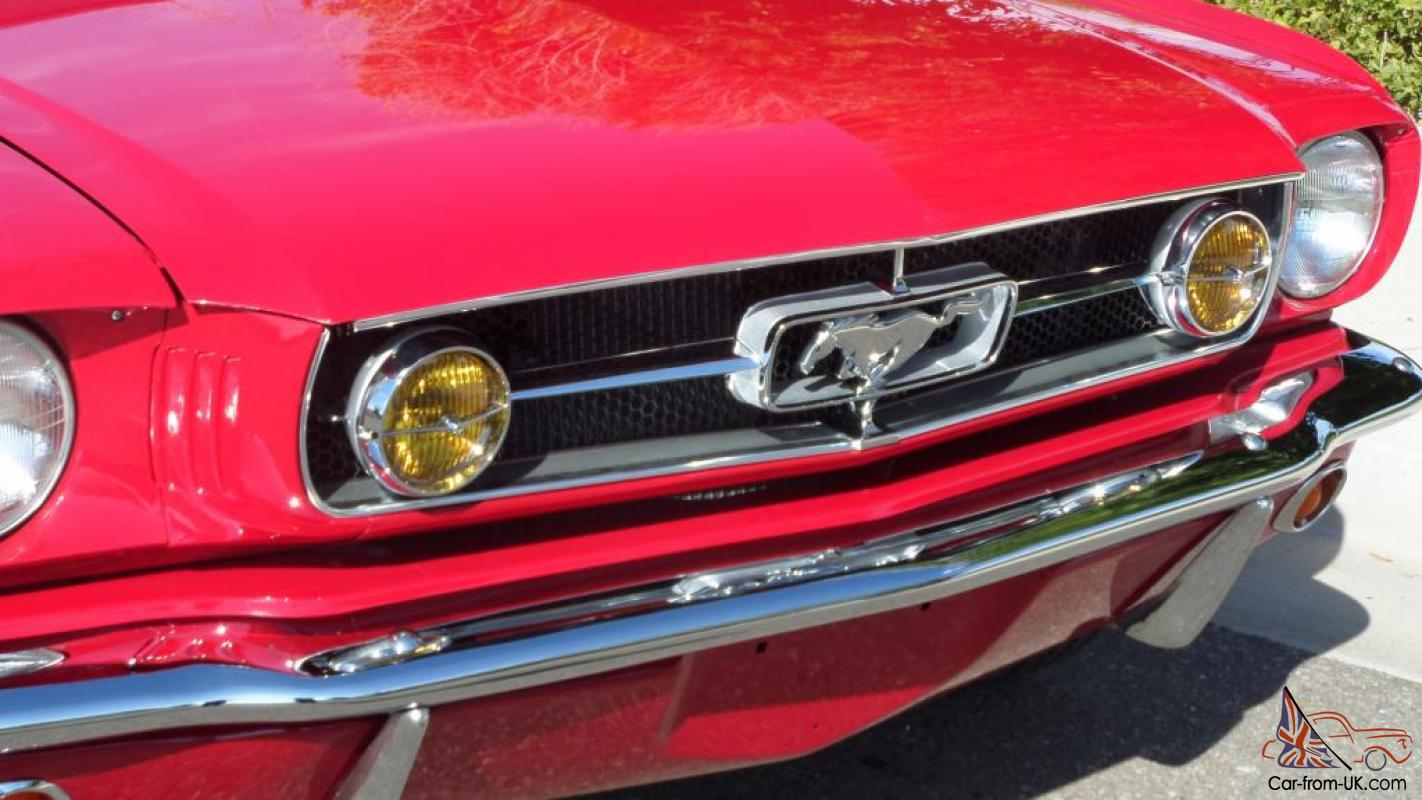 1965 Ford Mustang Fastback V8 Automatic Pony Interior Rust Free Must See