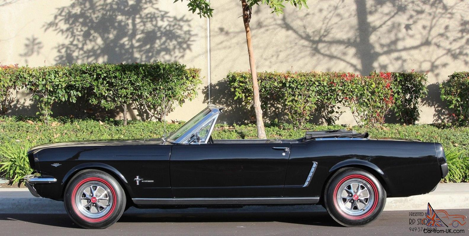 1964 1 2 Early 1965 Mustang Convertible T5 5 Speed F Code 260 Ford Paint Colors Show