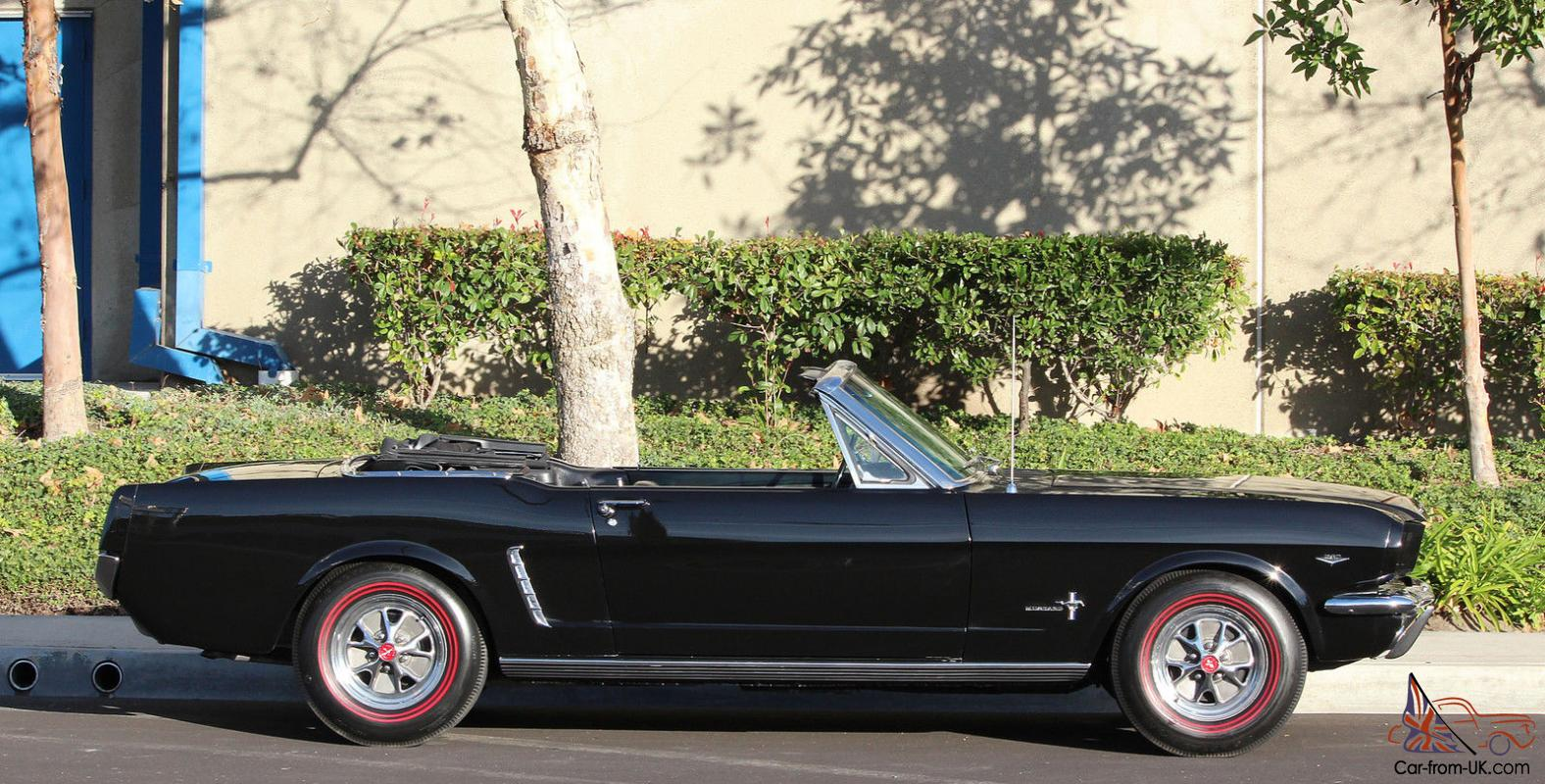 1964 1 2 Early 1965 Mustang Convertible T5 5 Sd F Code 260 Show Paint