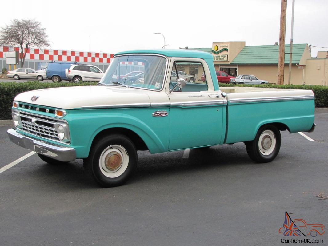 1965 ford f100 short box pickup 81 000 actual miles. Black Bedroom Furniture Sets. Home Design Ideas