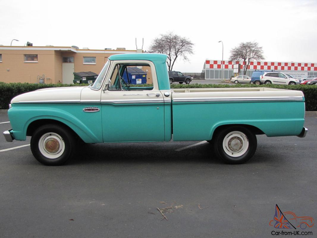 1965 ford f100 short box pickup 81 000 actual miles for sale