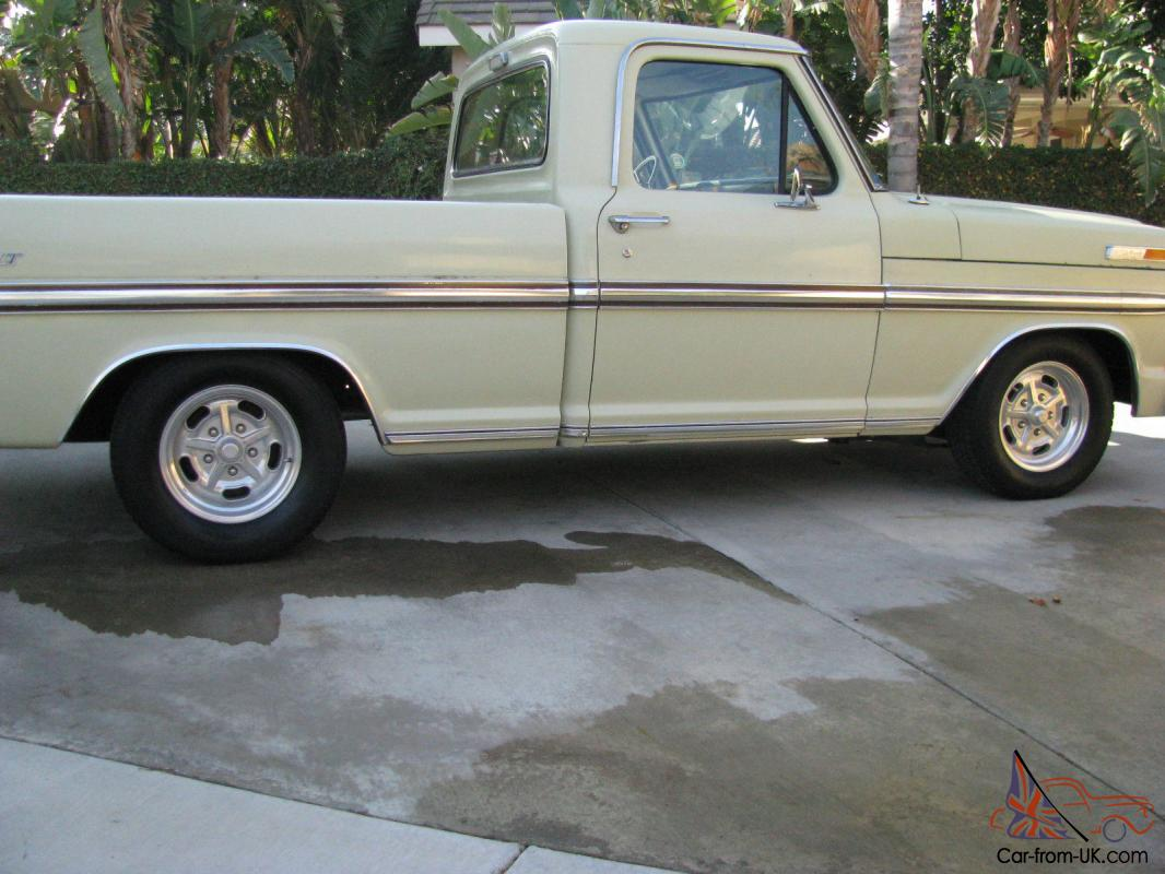 1970 Ford F100 Short Bed 1969 302 Engine