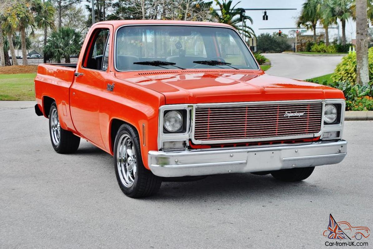 Magnificent super charged 1979 gmc custom shortbox loadedover 45k invested sweet