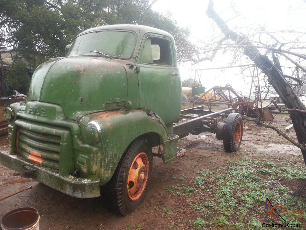 1954 Gmc Coe Cab Over Truck 1949 Ford