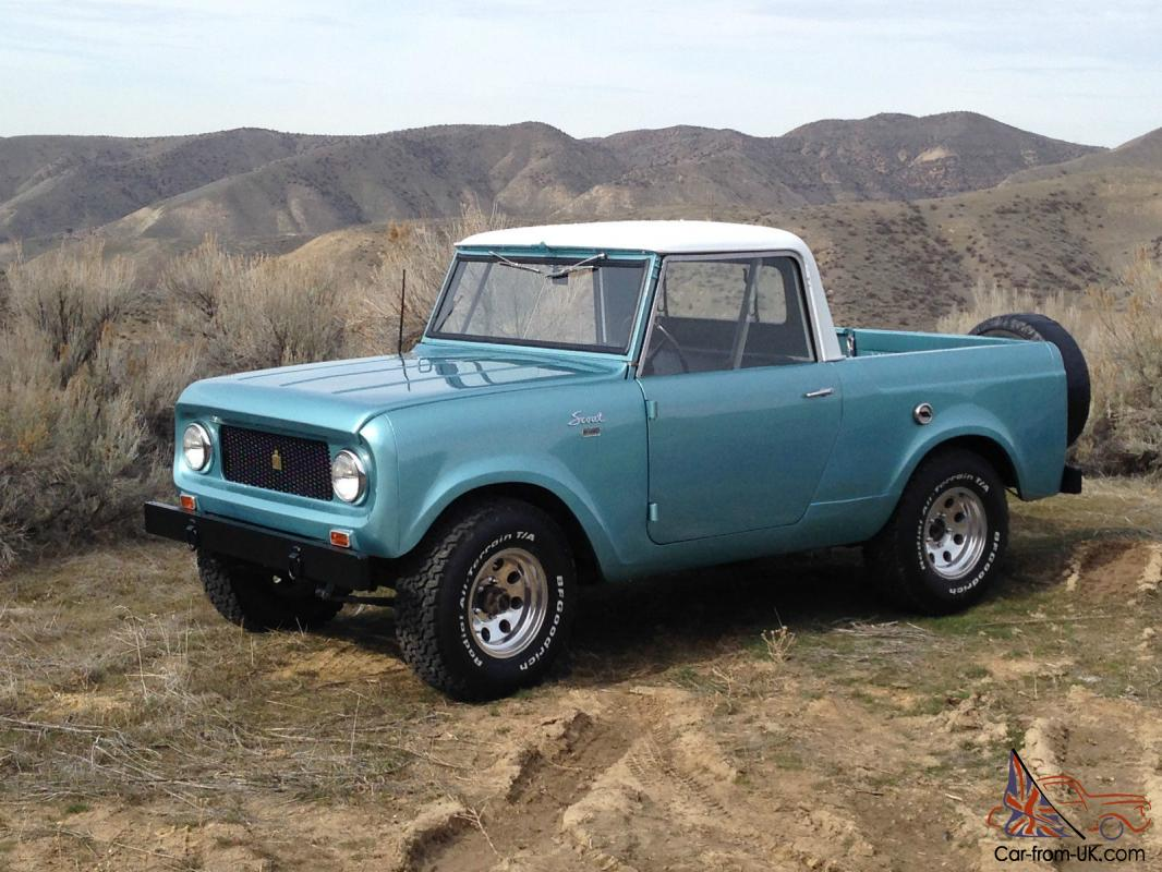 1962 international scout 80 truck for sale