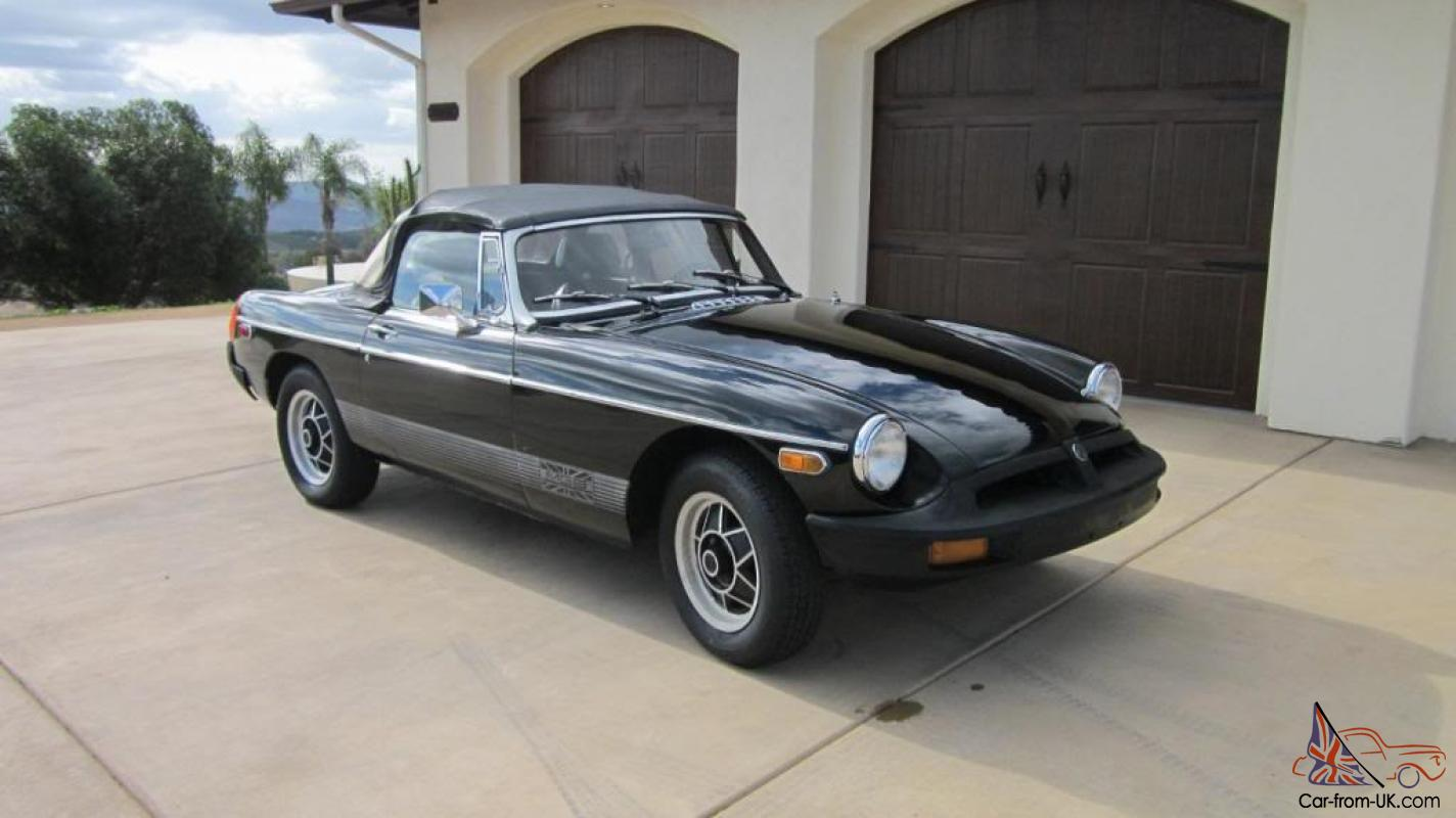mgb le limited edition california car semi restoration. Black Bedroom Furniture Sets. Home Design Ideas