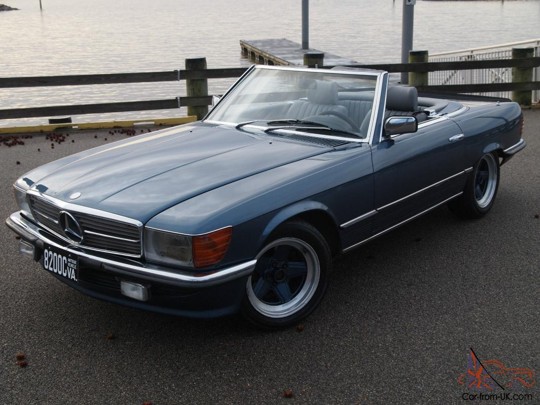 1983 mercedes benz 500sl