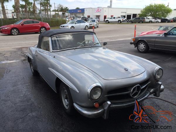 1959 mercedes 190sl w121 db 180 mercedes 190 sl complete and running. Black Bedroom Furniture Sets. Home Design Ideas