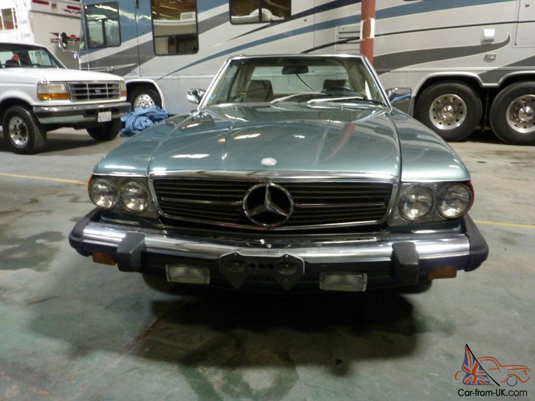 1988 mercedes benz 560 sl roadster for Classic mercedes benz for sale ebay