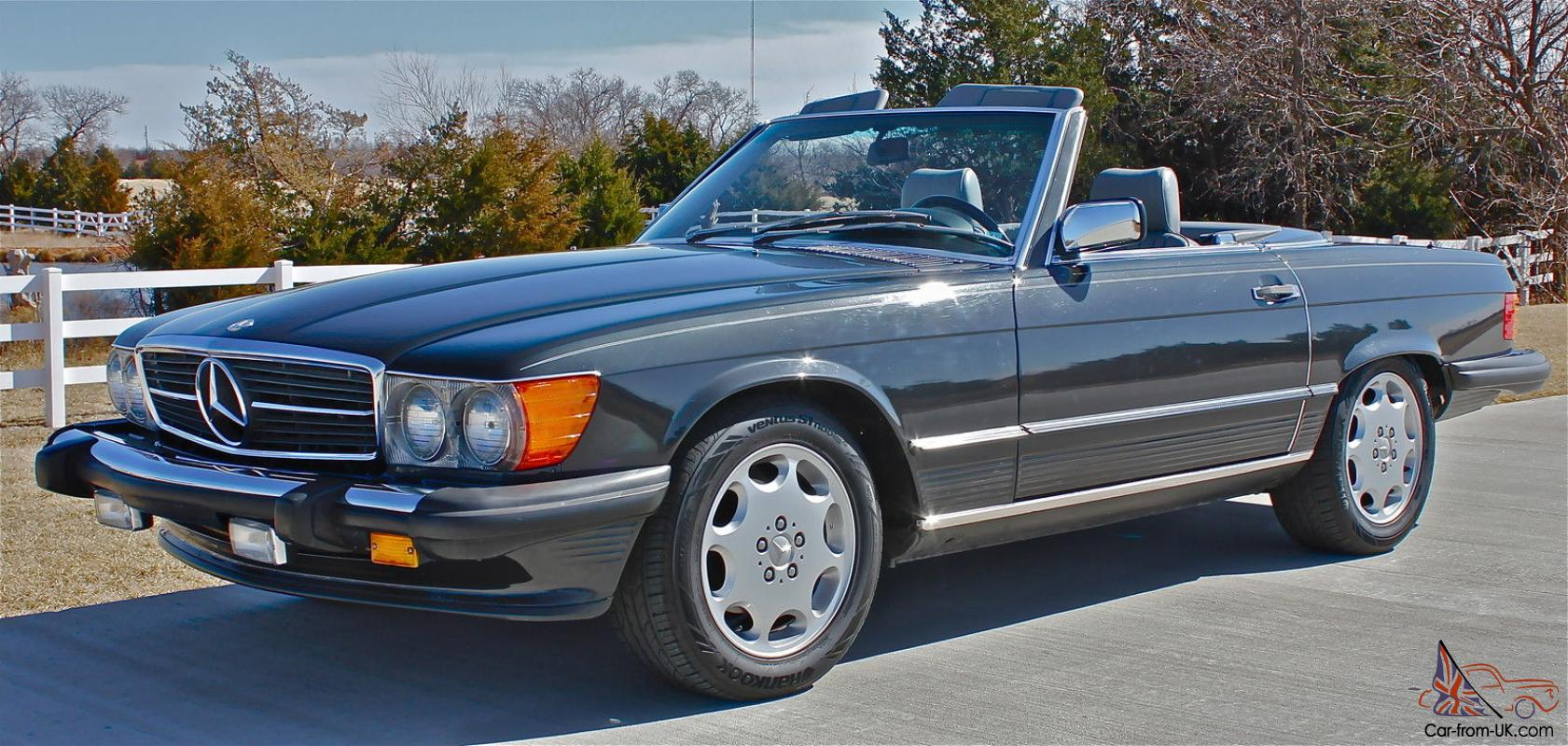 1986 mercedes benz 560 sl 64 100 miles for Mercedes benz mileage