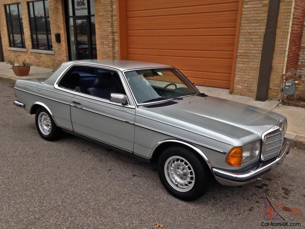 1980 mercedes benz 230ce rare classic euro version gray for 1980s mercedes benz