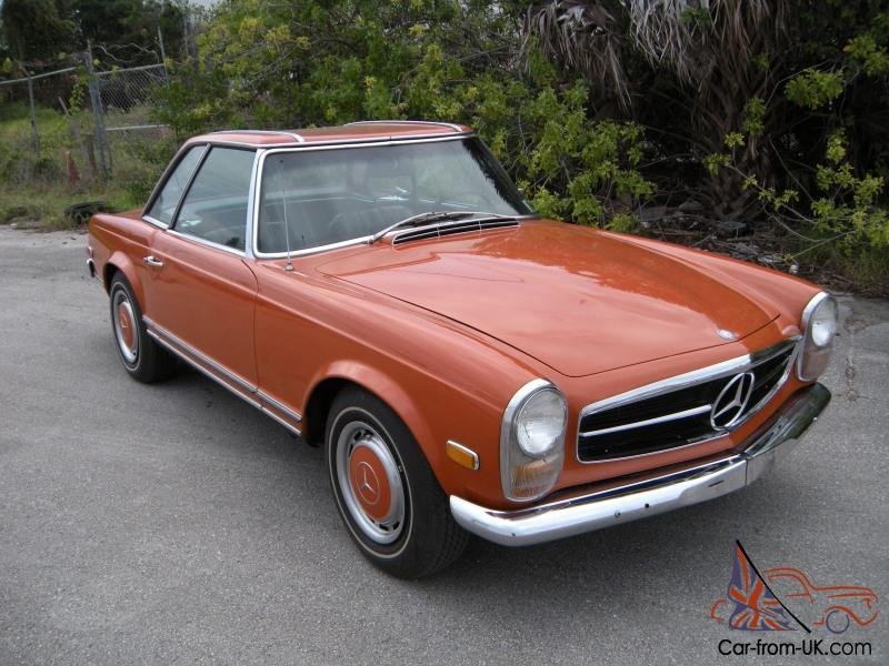 1968 mercedes benz 280sl w113 pagoda automatic for Mercedes benz 280sl pagoda