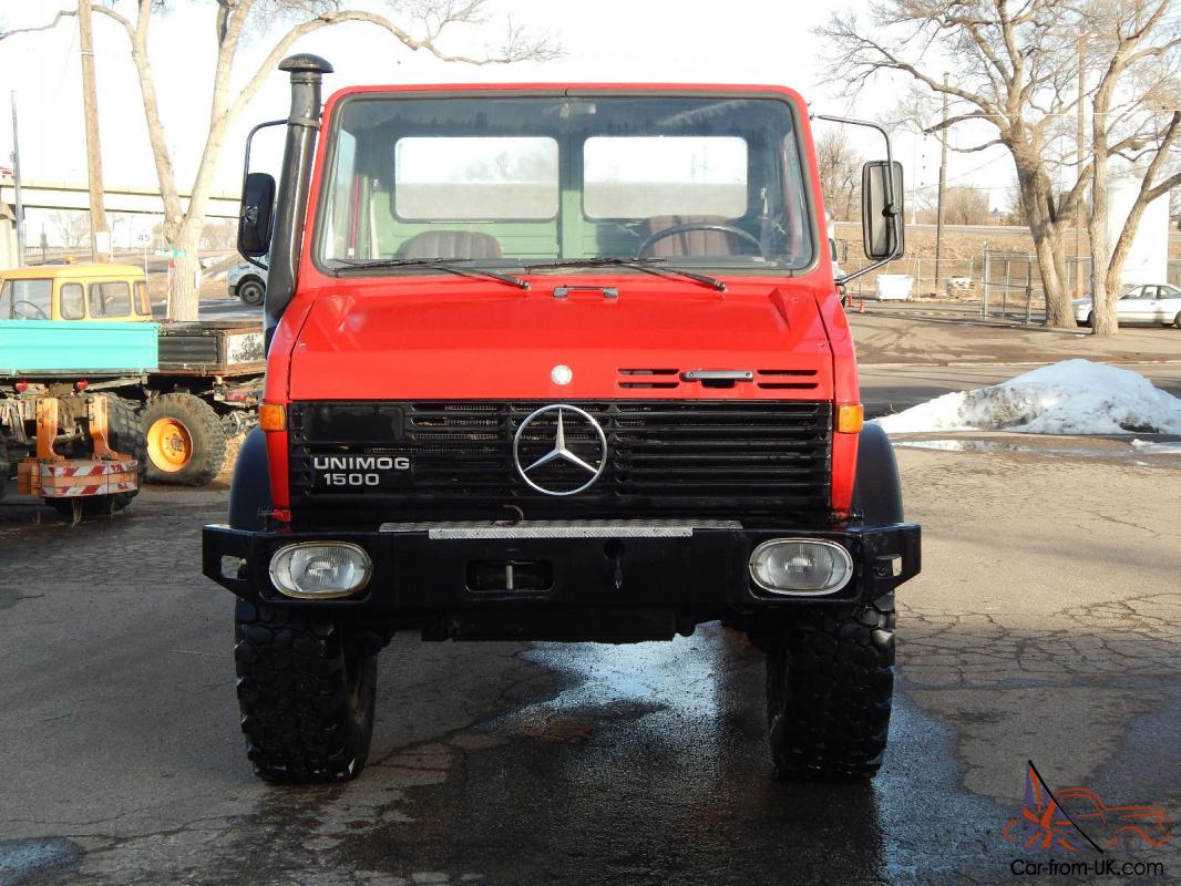 Unimog u1300l turbo charged for Mercedes benz unimog for sale usa
