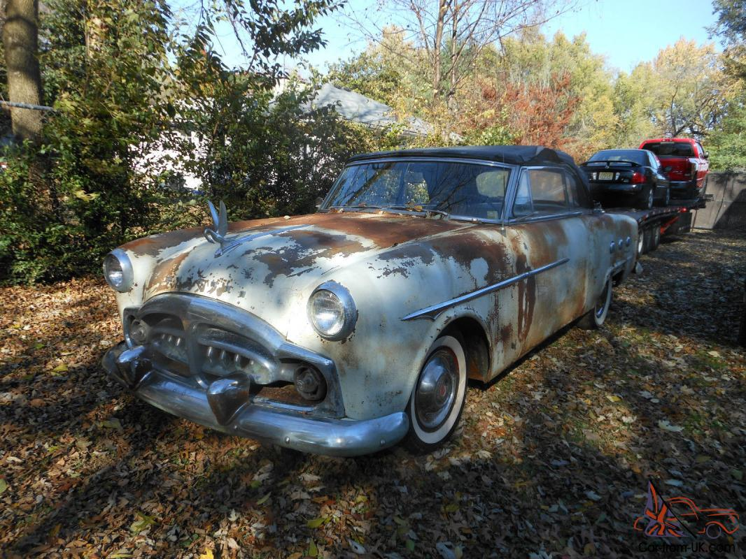1951 Packard Convertible Barn Find 1952 Conv