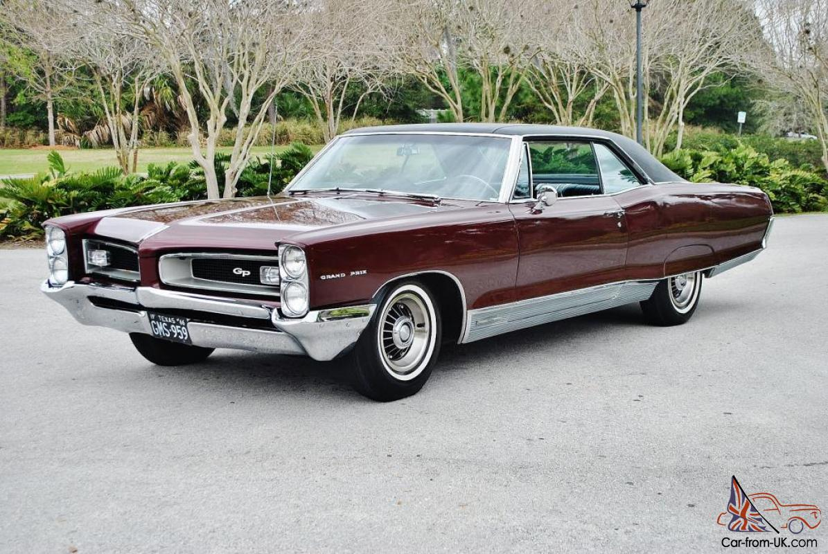 best in u s just 1 owner 1966 pontiac grand prix loaded 8. Black Bedroom Furniture Sets. Home Design Ideas