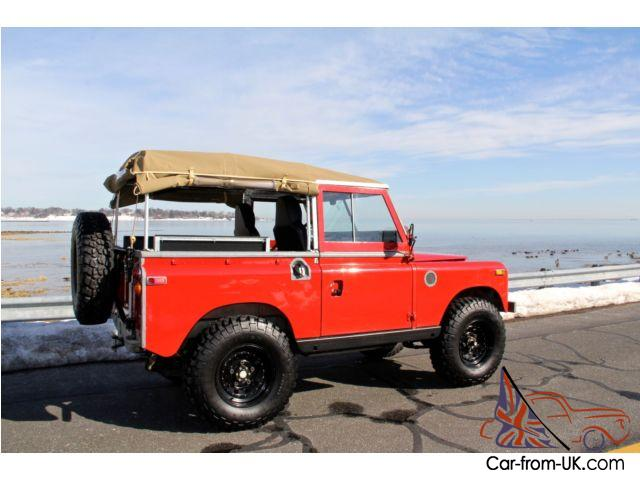 1970 land rover series iia re engineered street beach or off road capable. Black Bedroom Furniture Sets. Home Design Ideas