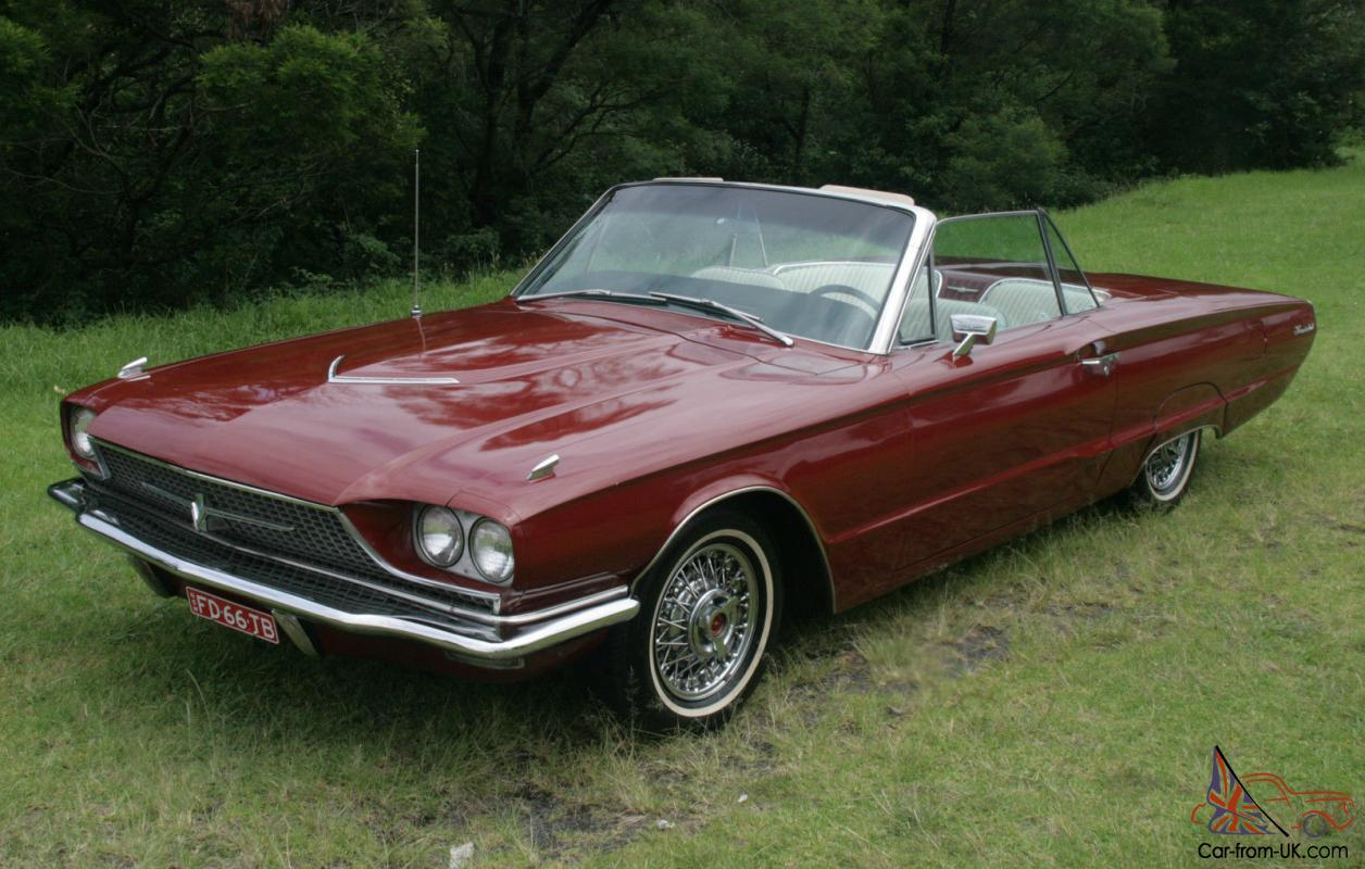 1966 ford thunderbird convertible 390 cubic inch 10 months. Black Bedroom Furniture Sets. Home Design Ideas