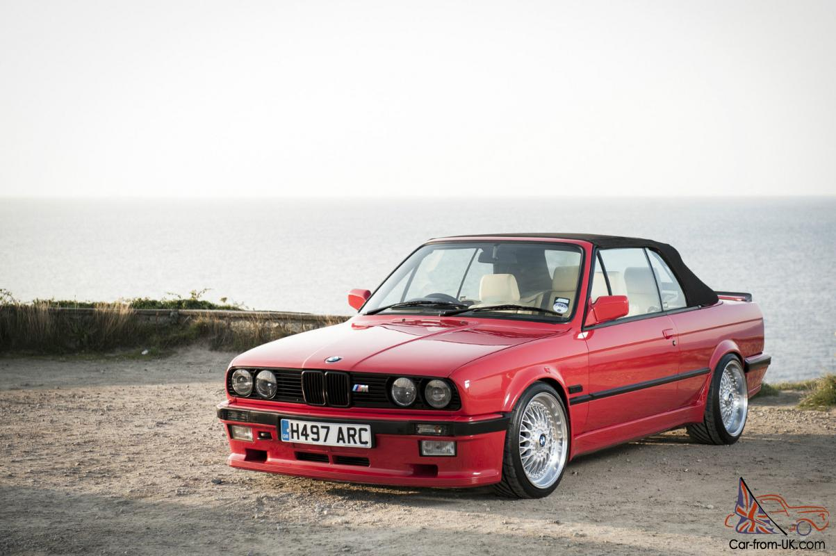 1990 bmw e30 325i convertible e36 m3 3 2 petrol conversion mint pos feature. Black Bedroom Furniture Sets. Home Design Ideas