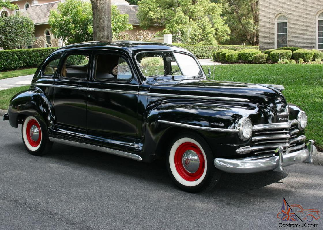 1948 plymouth deluxe