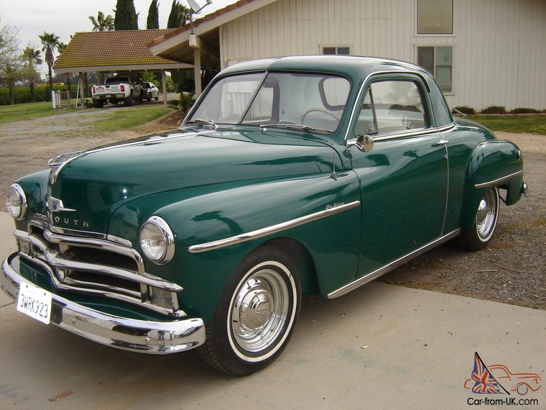1950 plymouth buisness coupe for 1950 plymouth 2 door coupe